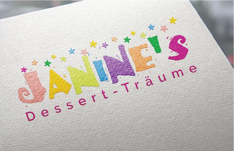 Janines Dessert Träume 688933 Logo Design Bunt