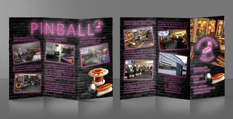 Leporellofalz 782251 Flyer Design