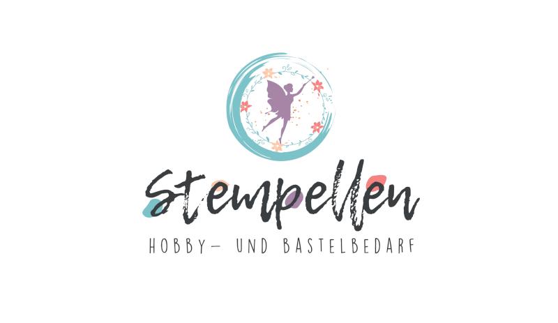 Stempellen Farbefrohes Logo 234779 Hobby Bastelbedarf