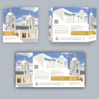 Syrisch Orthodoxe Kirche Österreich Design Flyer 344155