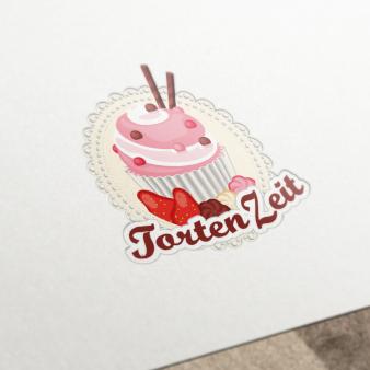 Tortenzeit Design bunt 212221 Logo