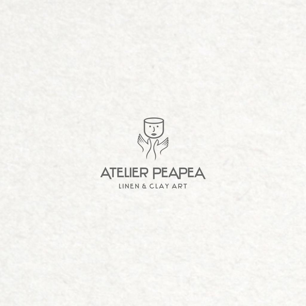 Atelier PeaPea 815856 Logo Design minimalistisch zart