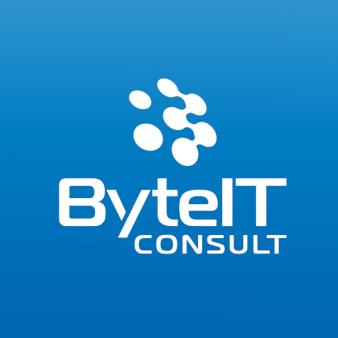 ByteIT Consult 165986 Minimalistische Moderne Logo-Designs