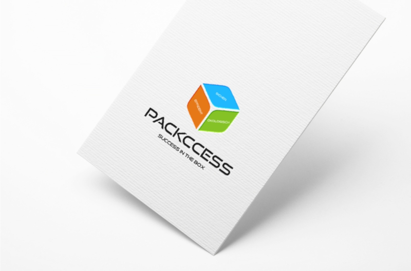 Geometrie Schlichtes Design Packccess 965776 Logo