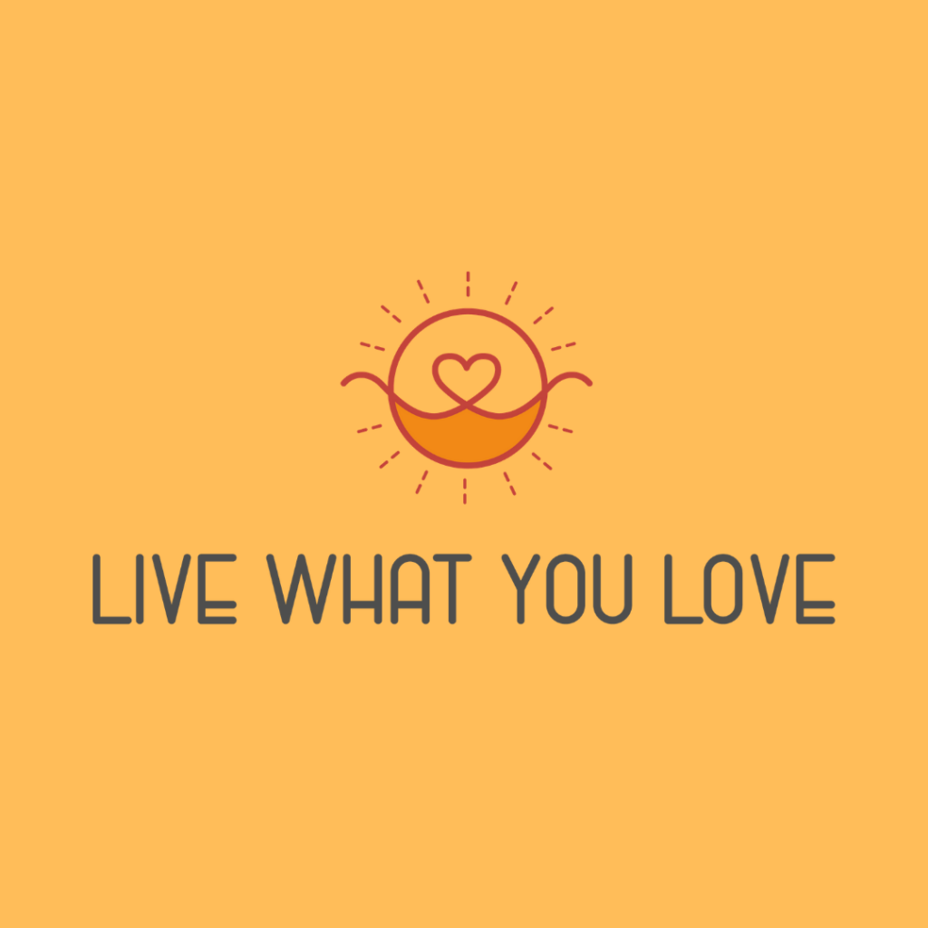Live What You Love 349327 Schlichtes Logo