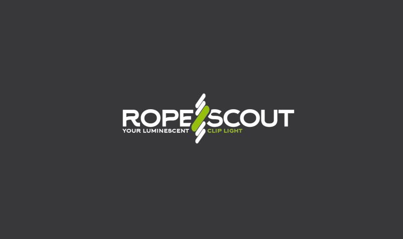 Schlicht minimalistisch Logo mit Bildmarke RopeScout 738483