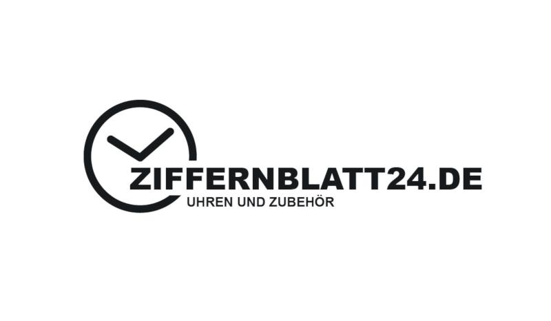Ziffernblatt24 Schlichtes Logo 155354 mit Strichen gezeichnet