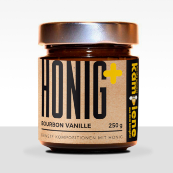 Honig+ Bourbon Vanille Honig Etiketten 618269 cpunktlubo