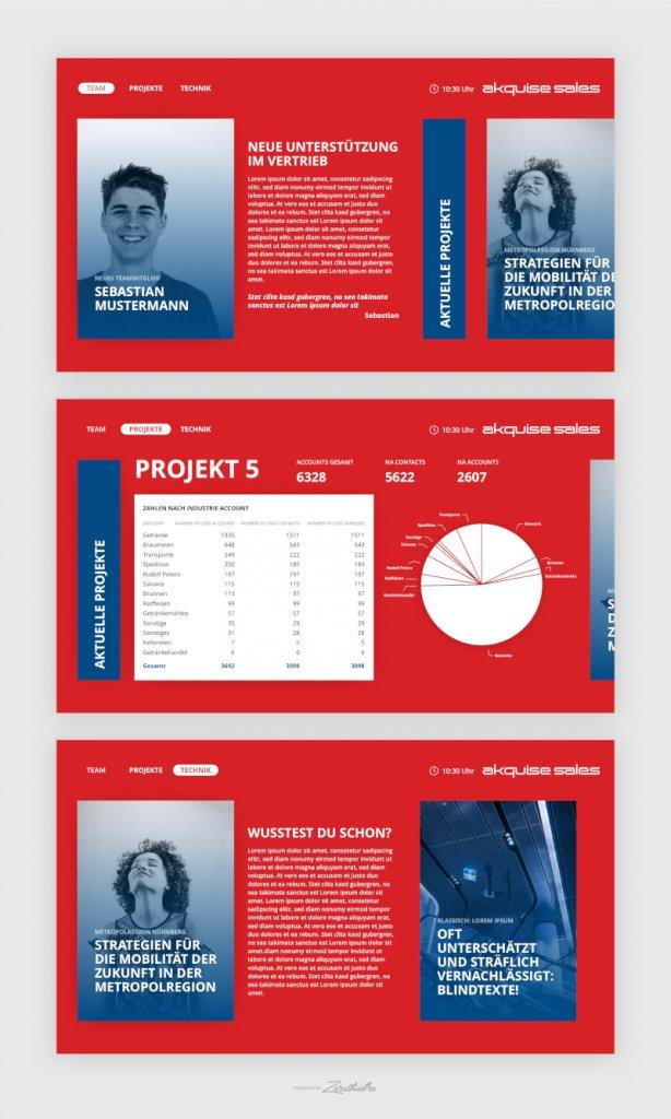 Landing Page Design Akquise 652834