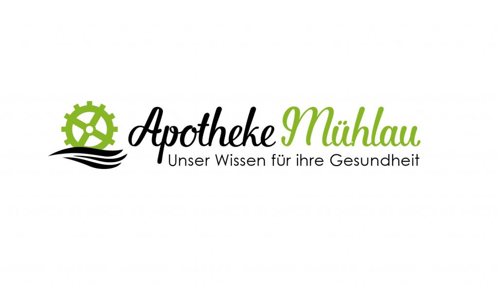 Logo-Design für Apotheke Mühlau