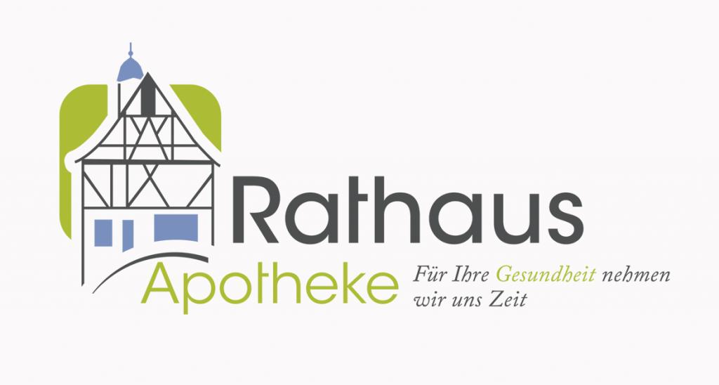 Apotheken-Logo für die Rathaus-Apotheke