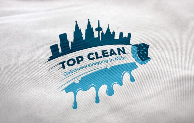 Gebäudereinigung Top Clean Reinigung Logo 586179