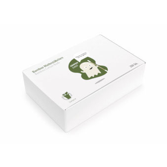 Bambus-Wattestäbchen-Kosmetik-Verpackung-Umweltfreundlich