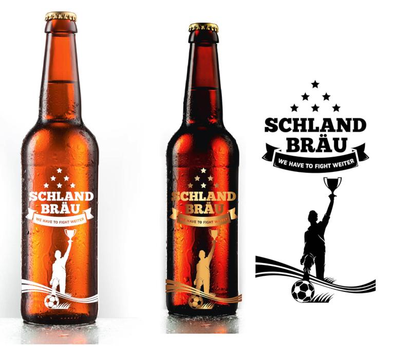 Bieretiketten Schland Bräu 563517