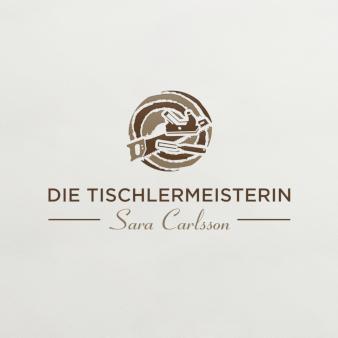 Die Tischlermeisterin Tischler Logo geometrisch