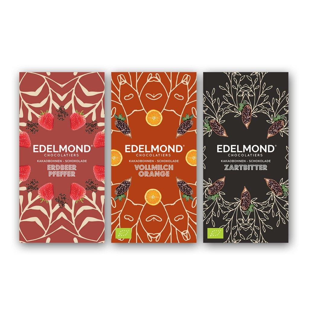 Edelmond-Schokoladen-Verpackung-Farbenfroh