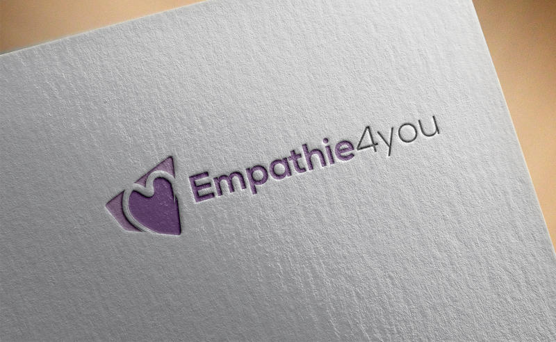 Empathie4You Logo Design in Lila