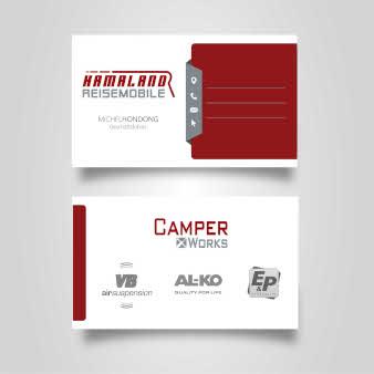 Hamaland-Reisemobile-Visitenkarten-Beispiele