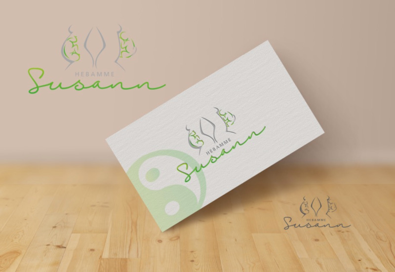 Hebamme-Susann-Logo-Design