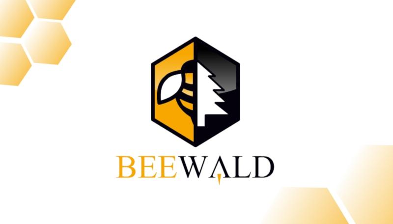 Imkerei-Logo-Design-Beewald