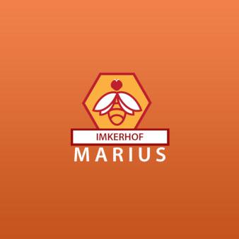 Imkerhof-Marius-Imkerei-Logo