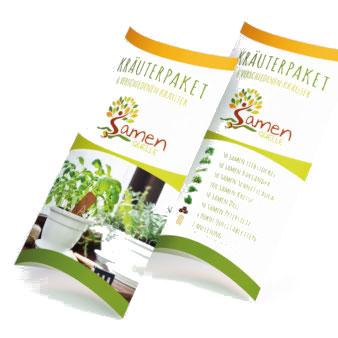 Kräuterpaket-Samenquelle-Verpackungsdesign-Produkt