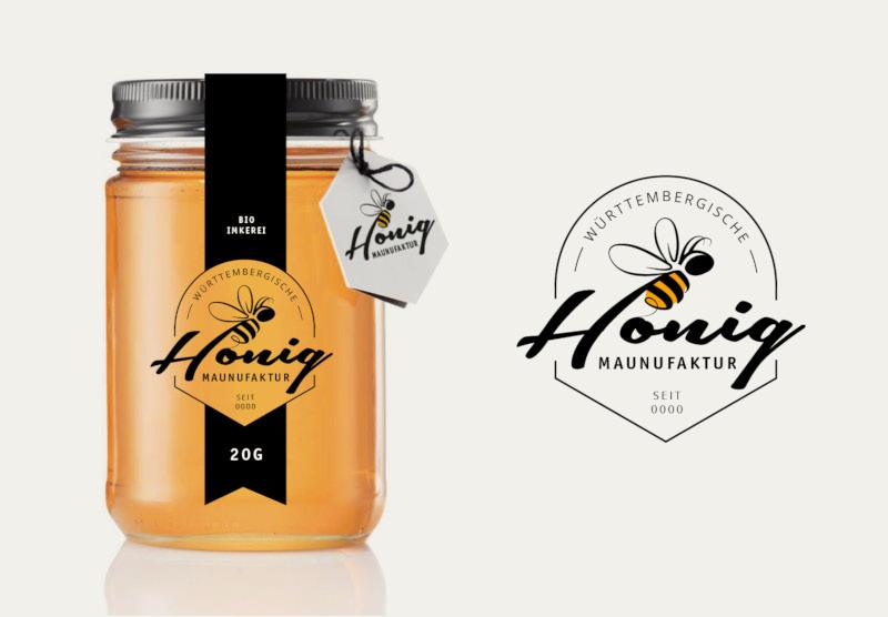 Logo-Imkerei-Honig-Manufaktur
