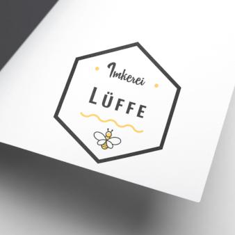 Logo-Imkerei-Lüffe