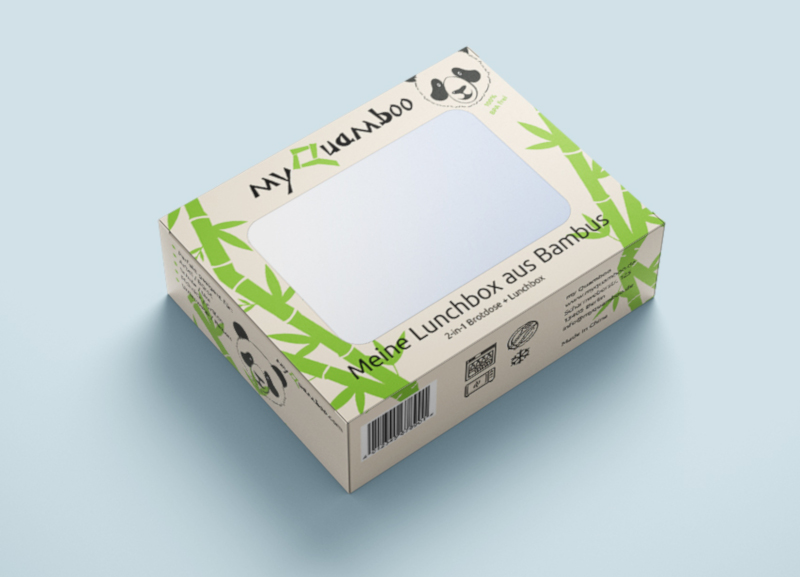 Lunchbox-aus-Bambus-Produktverpackung-Design