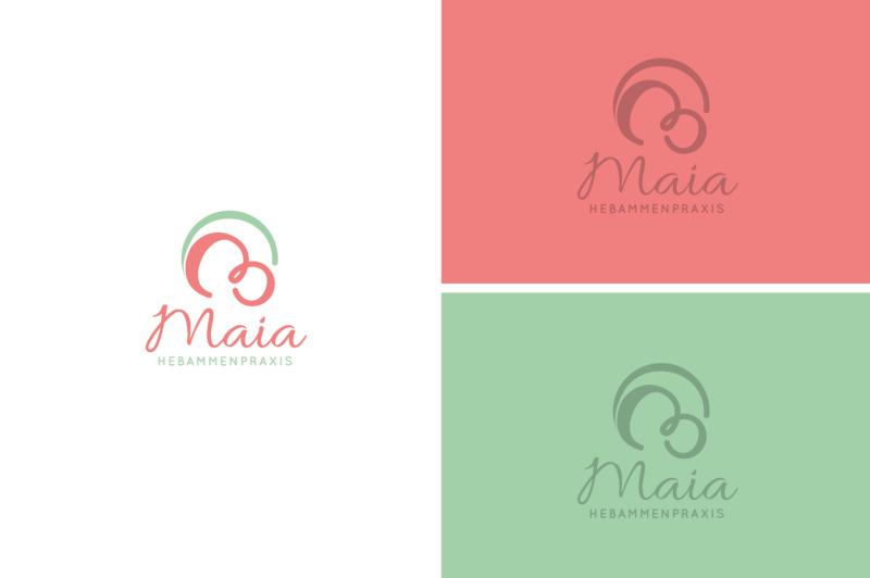 Maia-Hebammenpraxis-Logo-Design