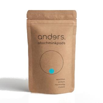 Produktverpackung Anders Abschminkpads