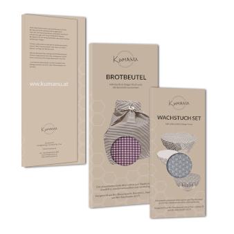 Produktverpackung Design Kumanu Brotbeutel