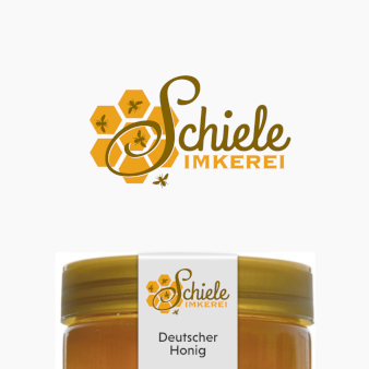 Schiele-Imkerei-Logo-Design