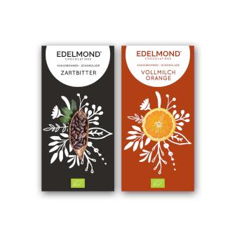 Schokolade Edelmond Design Produktverpackung