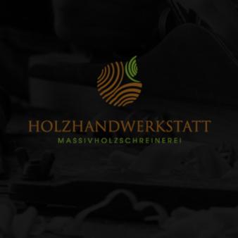 Schreiner Logo Holzhandwerkstatt klassische Holzoptik