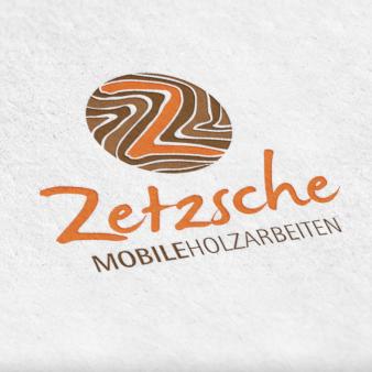Schreiner Logo in Holzoptik Zetzsche
