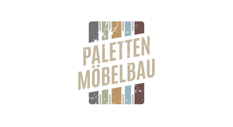 Tischler Logo Paletten Möbelbau Holzoptik