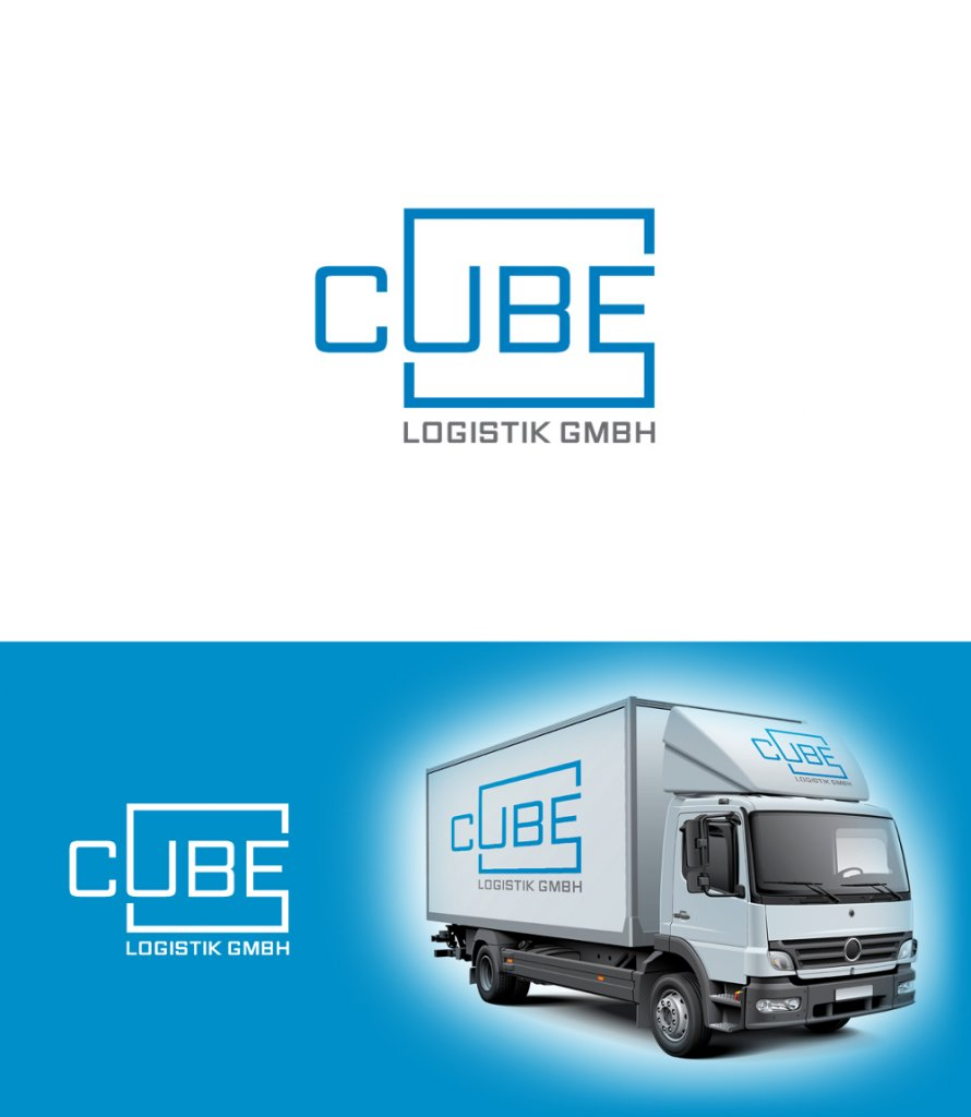 Transport-Logo für CUBE Logistik