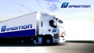 Speditions-Logo für FF Spedition