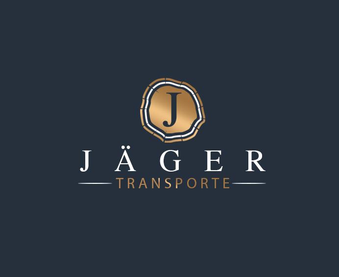 Transport-Logo für Jäger Transporte