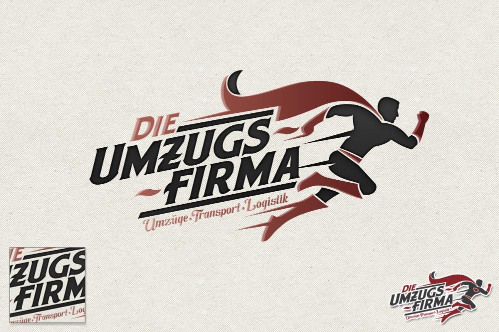 Umzugs-Logo für die Umzugsfirma