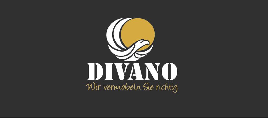 Transport-Logo für Divano