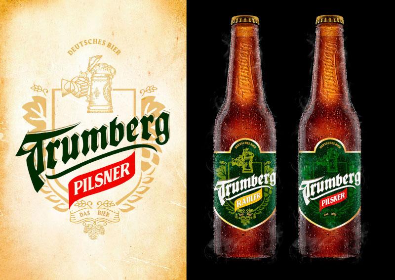 Trumberg Pilsner Design Bieretiketten 522786