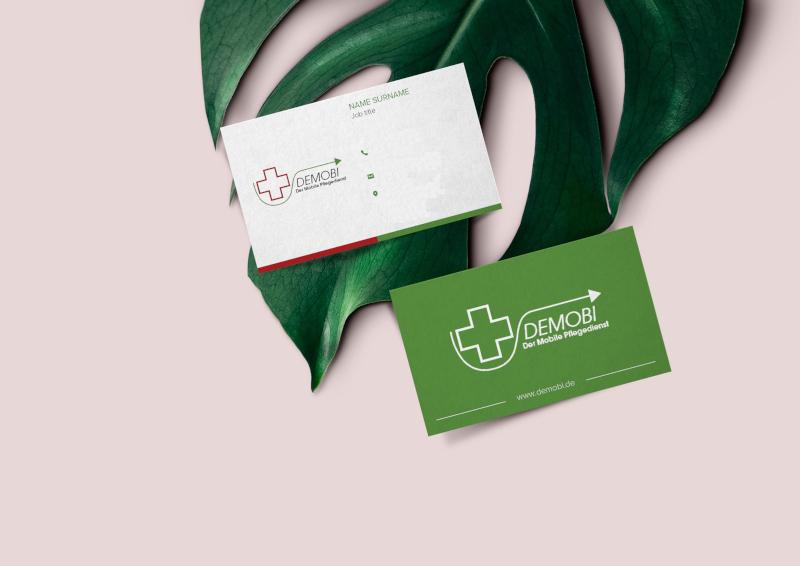Visitenkarten-Design-DEMOBI-Mobiler-Pflegedienst