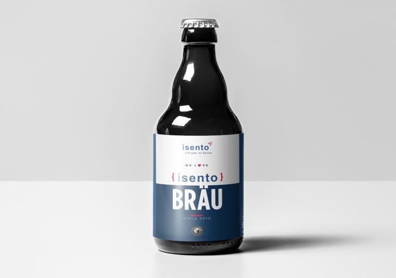 bieretiketten design 511511 isento Bräu