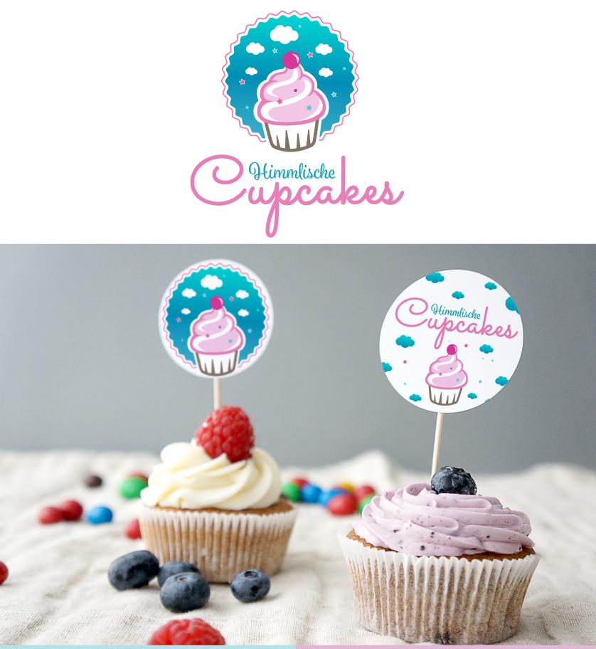 Logo für Himmlische Cupcakes