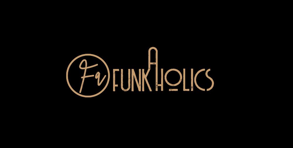 Event Logo, Funkaholics von lina ros