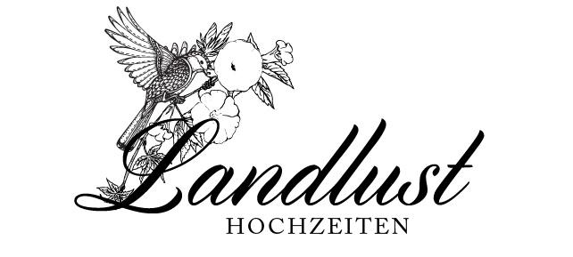 Event Logo, Landlust Hochzeiten