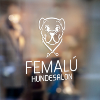 Femalu-Hundesalon-Logo-Design