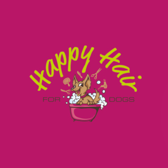 Happy-Hair-Hundesalon-Logo